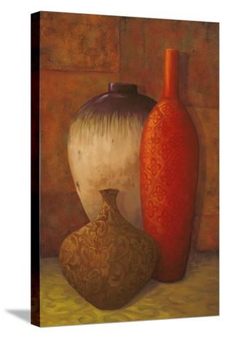 Exotic Vessels II-Jillian Jeffrey-Stretched Canvas Print