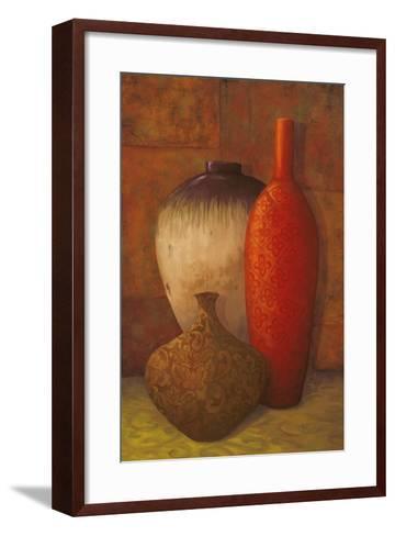 Exotic Vessels II-Jillian Jeffrey-Framed Art Print