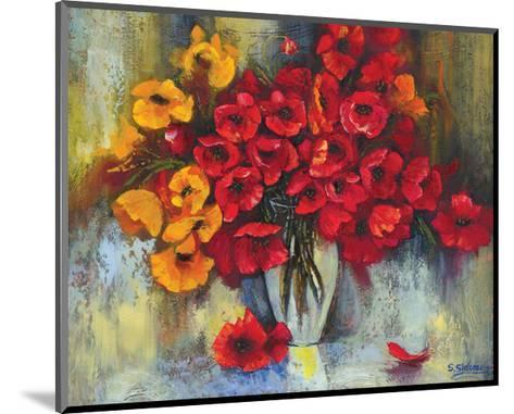 Poppy Fascination-Stanislav Sidorov-Mounted Art Print