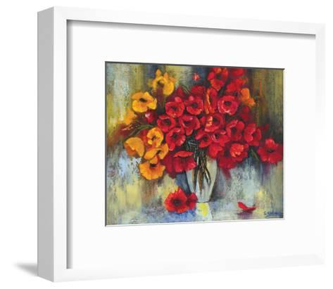 Poppy Fascination-Stanislav Sidorov-Framed Art Print