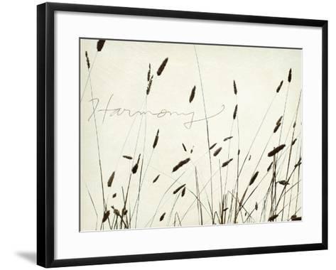 Grass Harmony-Amy Melious-Framed Art Print