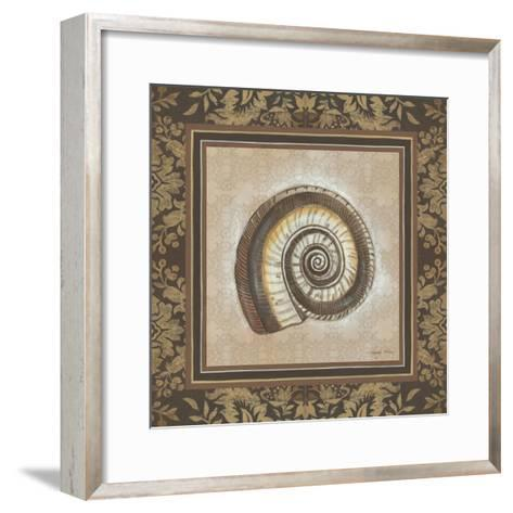 Shell Elegance III-Kimberly Poloson-Framed Art Print