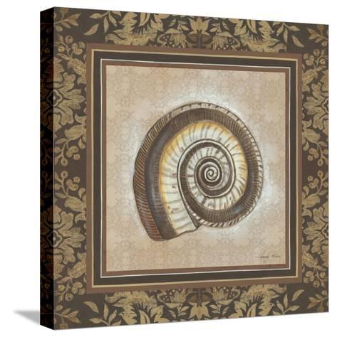 Shell Elegance III-Kimberly Poloson-Stretched Canvas Print