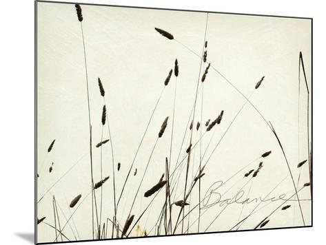 Grass Balance-Amy Melious-Mounted Premium Giclee Print