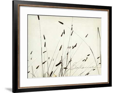 Grass Balance-Amy Melious-Framed Art Print