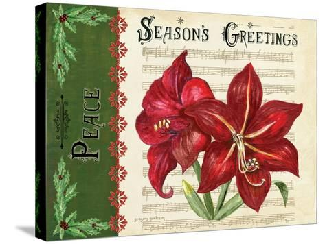 Season's Greetings-Gregory Gorham-Stretched Canvas Print
