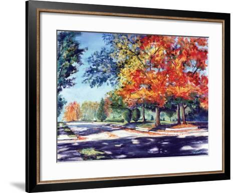 Fall Brilliance II-Todd Williams-Framed Art Print