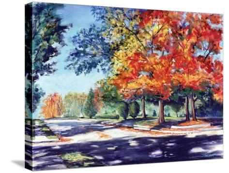 Fall Brilliance II-Todd Williams-Stretched Canvas Print