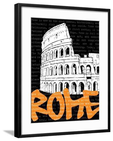 Travel Graffiti IV-N^ Harbick-Framed Art Print