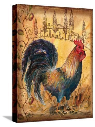 Tuscan Rooster I-Todd Williams-Stretched Canvas Print