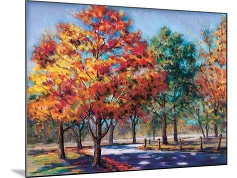 Fall Brilliance I-Todd Williams-Mounted Premium Giclee Print
