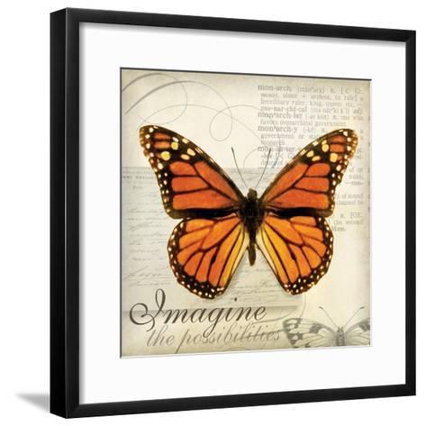 Imagine Possibilites-Amy Melious-Framed Art Print