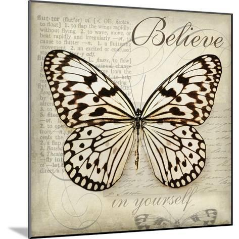 Believe in Yourself-Amy Melious-Mounted Art Print