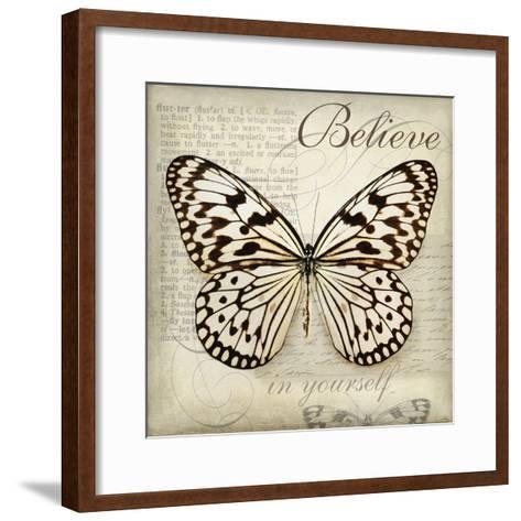 Believe in Yourself-Amy Melious-Framed Art Print