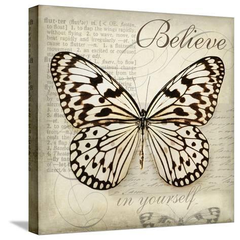 Believe in Yourself-Amy Melious-Stretched Canvas Print