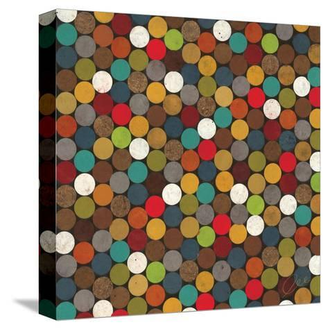 Dot Obsession II-Jeni Lee-Stretched Canvas Print