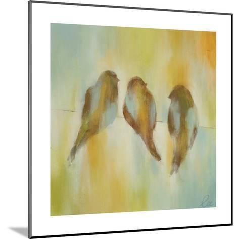 Bird Trio I-Jeni Lee-Mounted Premium Giclee Print