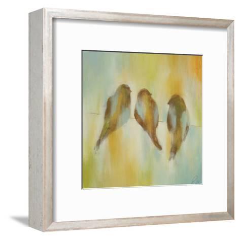 Bird Trio I-Jeni Lee-Framed Art Print