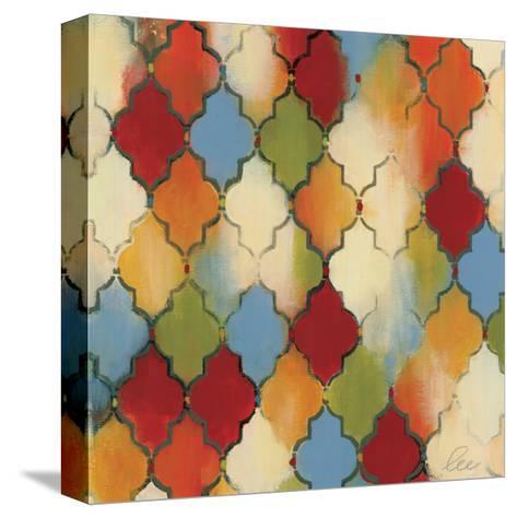 Spice Quatrefoil II-Jeni Lee-Stretched Canvas Print