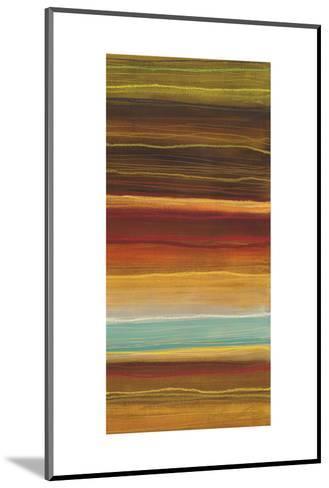 Organic Layers IV-Jeni Lee-Mounted Art Print