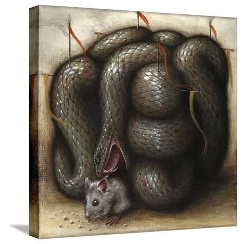 Perilous Abode-Jason Limon-Stretched Canvas Print
