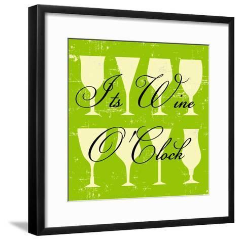 Words of Wine 6-Lola Bryant-Framed Art Print