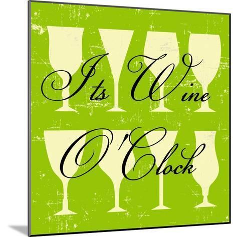 Words of Wine 6-Lola Bryant-Mounted Art Print