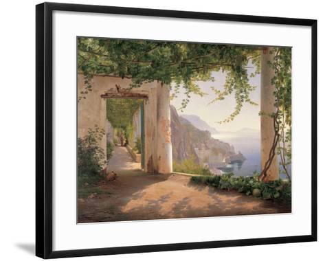 Amalfi Cappuccini-Carl Frederic Aagaard-Framed Art Print