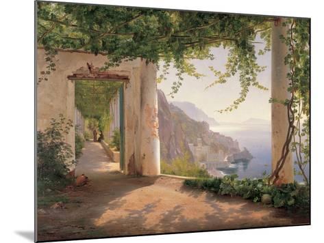 Amalfi Cappuccini-Carl Frederic Aagaard-Mounted Premium Giclee Print