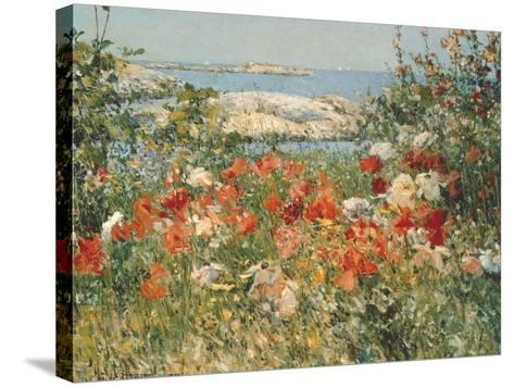Ocean View-Childe Hassam-Stretched Canvas Print