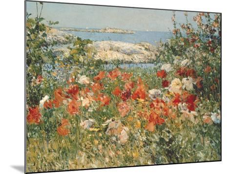 Ocean View-Childe Hassam-Mounted Premium Giclee Print