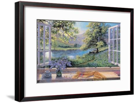 Bluebells-Stephen Darbishire-Framed Art Print