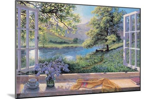Bluebells-Stephen Darbishire-Mounted Premium Giclee Print