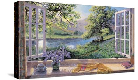 Bluebells-Stephen Darbishire-Stretched Canvas Print
