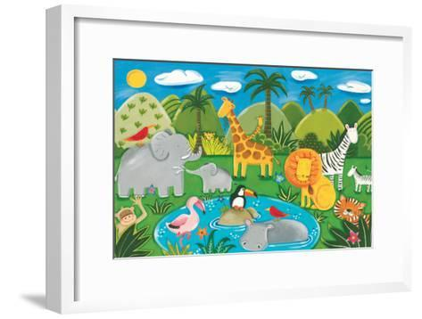 Jungle Fun-Sophie Harding-Framed Art Print