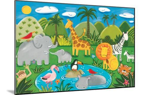 Jungle Fun-Sophie Harding-Mounted Premium Giclee Print