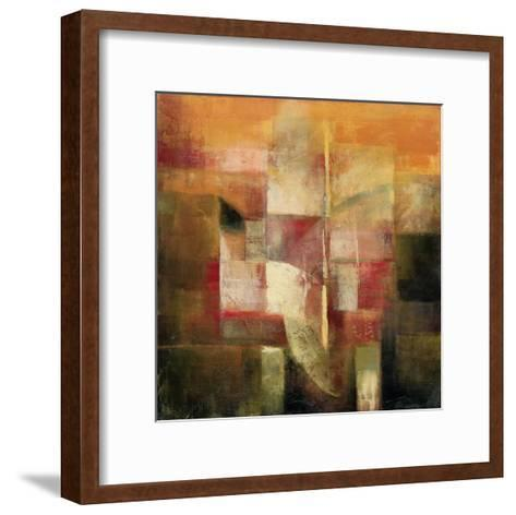 Parallel Following II-John Douglas-Framed Art Print