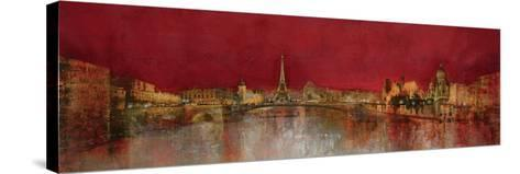 Paris at Night-Kemp-Stretched Canvas Print