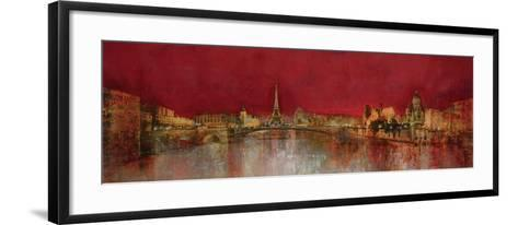 Paris at Night-Kemp-Framed Art Print
