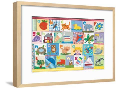 The Alphabet-Claire Beaton-Framed Art Print