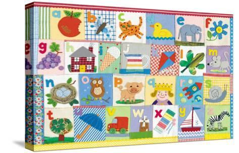 The Alphabet-Claire Beaton-Stretched Canvas Print