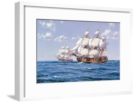 Duke and Duchess-Montague Dawson-Framed Art Print