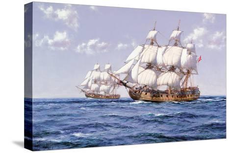 Duke and Duchess-Montague Dawson-Stretched Canvas Print