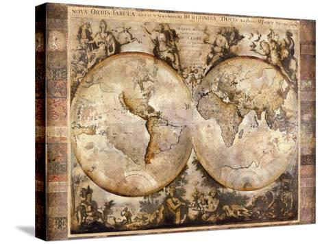 Old World-Edwin Douglas-Stretched Canvas Print