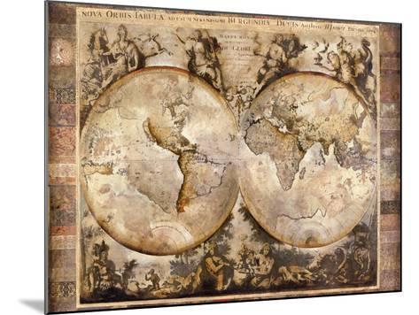 Old World-Edwin Douglas-Mounted Premium Giclee Print