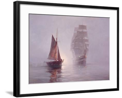 Night Mists-Montague Dawson-Framed Art Print