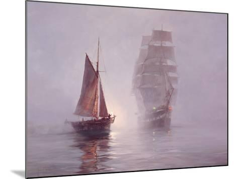 Night Mists-Montague Dawson-Mounted Premium Giclee Print