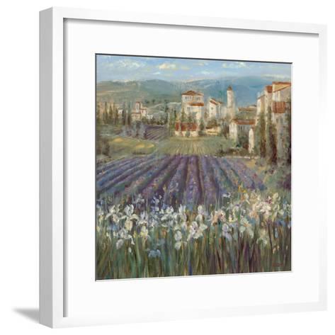 Provencal Village-Michael Longo-Framed Art Print