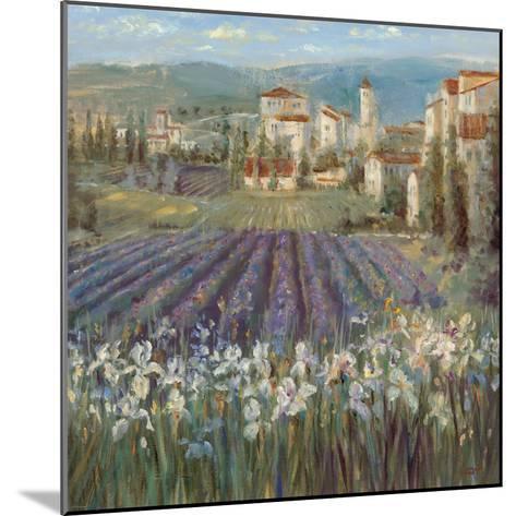 Provencal Village-Michael Longo-Mounted Premium Giclee Print