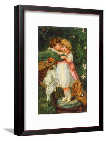 Over The Garden Wall Art Print by Frederick Morgan | Art.com